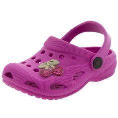 ea11186e110 Clog Infantil Feminino Pink Dok - 91112