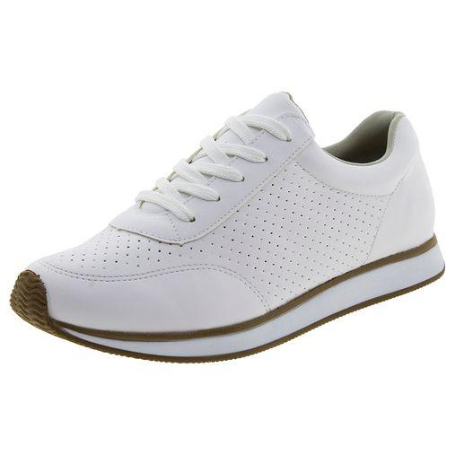 b83b566416 Código  5830650-003. Tênis Feminino Jogging Branco Via Marte - 1716501 ...