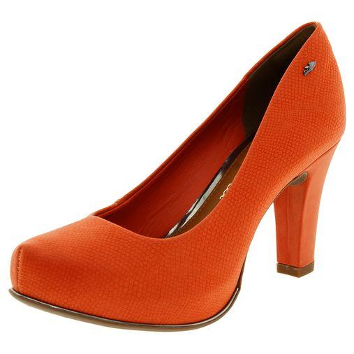 46cead60a Código: 0640891-054. Sapato Feminino Salto Alto Marsala Dakota ...