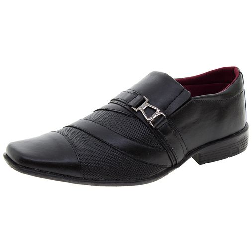 3e5c862c4 Sapato Masculino Social Preto CFX Shoes - 838 - Clovis Atacado