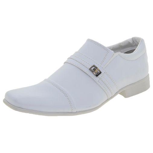 c79a8272e0 Sapato Masculino Social Branco Street Man - 259 - Clovis Atacado