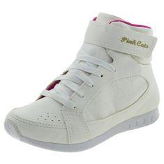 Tenis-Infantil-Feminino-Cano-Alto-Branco-Pink-Cats---W464A-01