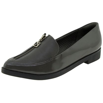Sapato-Feminino-Salto-Baixo-Cinza-Piccadilly---725023-01