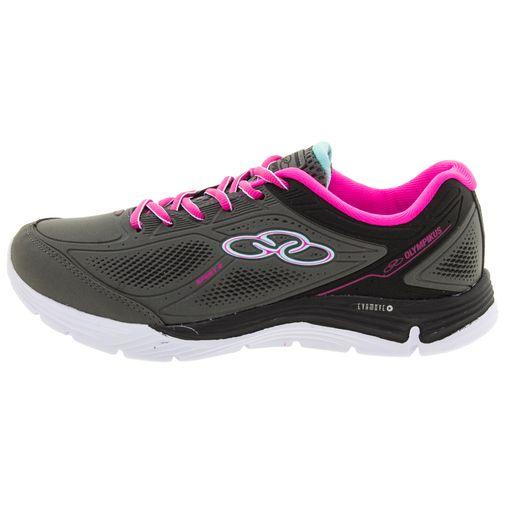 da236c08ae Tênis Feminino Spirit 2 Chumbo Pink Olympikus - 218 - Clovis Atacado