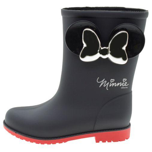 b3978e7d2 Bota Infantil Feminina Minnie Fashion Preta Grendene Kids - 21753 - 12  Pares. 1