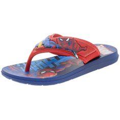 Chinelo-Infantil-Masculino-Homem-Aranha-Azul-Grendene-Kids---21901-01