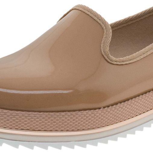 ac3e12a8e6 Sapato Feminino Flatform Nude Beira Rio - 4196300 - Clovis Atacado
