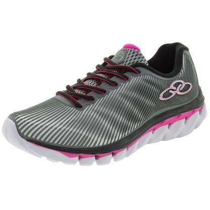 e25b372481 Tênis Feminino Perfect Cinza/Pink Olympikus - 302 - Clovis Atacado