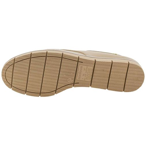 7fab5f5d2 Sapato Feminino Oxford Bege Moleca - 5613304 - Clovis Atacado
