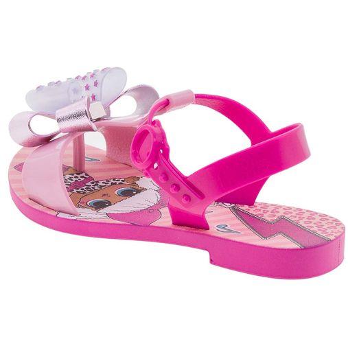 51055bb9e Sandália Infantil Feminina Lol Surprise Pink Grendene Kids - 21802 - 12  Pares. 1