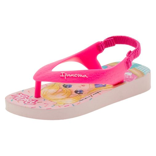 c8fc61dafc Chinelo Infantil Baby Polly e Max Steel Rosa Ipanema - 26349 - 12 Pares. 1