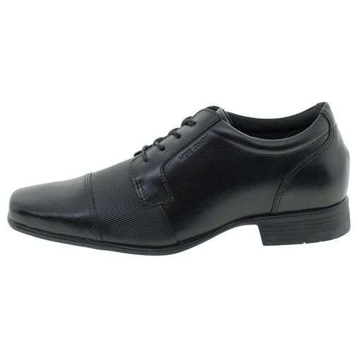 c80ba4bb2 Sapato Masculino Social Preto West Coast - 188604 - Clovis Atacado